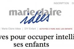 Ma Pochouette dans Marie Claire Idées !